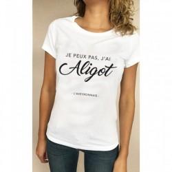 T-shirt Femme Je peux pas...